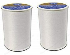 (2 Pack) Coats and Clark 2  White all purpose thread 400 yard spool  (2 pack)