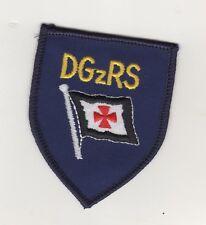 Uniform Ärmelabzeichen Aufnäher Patches DGzRS Seenotretter