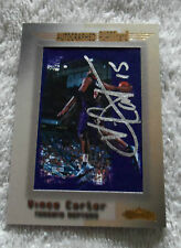 NBA : Vince Carter Autographed Showcase Avant Card - Rare