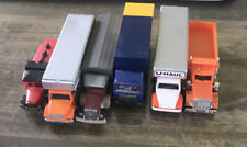 Lot of 6 HO (1/87) Scale Trucks LOOSE