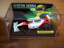 1/43 AYRTON SENNA No 05 MCLAREN MP4/6 HONDA V12 1991 WORLD CHAMPION