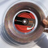 200M Reel Synthetic Flash Nylon Soft Feeling Tennis String Tennis Racquet Racket