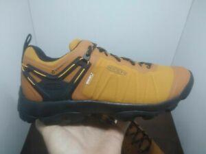 KEEN Outdoor 1023423 Men's Venture Waterproof Pumpkin Spice Hiking Boots Shoes