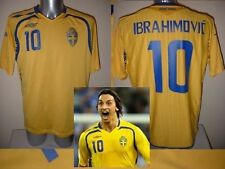 Sweden Umbro Adult S ZLATAN IBRAHIMOVIC Shirt Jersey 2010 Football Soccer PSG