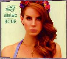 ★ MAXI CD Lana DEL REY  Video games - Blue Jeans 2-Track jewel case NEW SEALED ★
