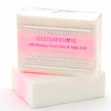 12 Bars of Premium Extra Strength Whitening Soap w/ Glutathione & Goat's milk