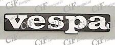 """SCRITTA """"VESPA"""" SCUDO ANTERIORE ADESIVA IN PLASTICA VESPA PX T5 125 1989 89"""