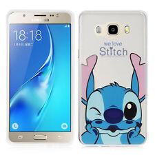 Carcasa Funda De Silicona TPU Ultra Fina Stitch para Samsung Galaxy J5 2016