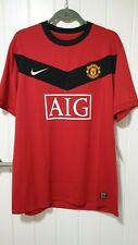 Manchester United Player Issue Home Shirt 2009/10 EPL version XXL