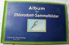 Altes Sammelbilderalbum Chlorodont von ca.1930
