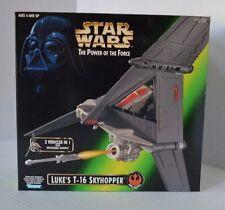 Star Wars 1997 POTF Luke's T-16 Skyhopper MISB RARE New in SEALED Box