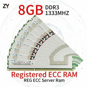64GB 32GB 16GB 8GB DDR3 PC3-10600R 2RX4 Registered Server RAM For Samsung LOT UK