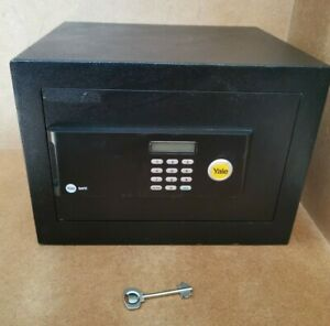 Yale Digital Electronic Steel Security Safe Office Home with Key 35x25x30cm P02
