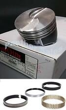 Hypereutectic Flat Top Coated Pistons & Hastings Moly Rings Ford 460 STD