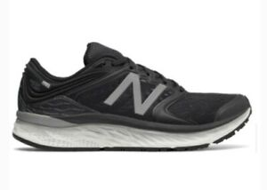 New Balance Fresh Foam 1080v8 Mens 10.5 Black White Trainers sneakers M1080BW8