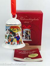 Hutschenreuther Weihnachtsglocke Porzellanglocke Glocke 2014 mit Verpackung NEU