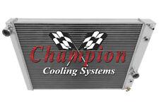Champion 3 Row All Aluminum KR Radiator For 1991 - 96 Chevy Corvette