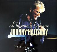 Johnny Hallyday CD Single L'hymne À L'amour - Digipak - France (VG/EX+)