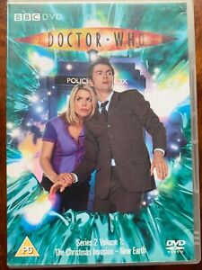 Doctor Who Series 2 Volume 1 DVD 2005 David Tennant BBC Sci-Fi Series