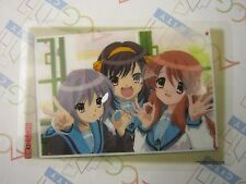 Melancholy of Haruhi Suzumiya Jumbo Carddas Plate Collection Card D Bandai USED