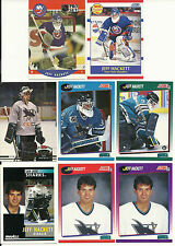 Huge 30 + Different JEFF HACKETT cards lot 2 RC 1990 - 2001 Islanders Sharks