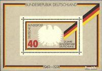 BRD Block10 (kompl.Ausgabe) postfrisch 1974 25 Jahre Bundesrepublik