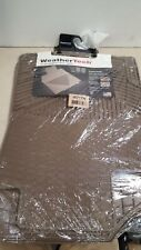W71TN WeatherTech Trim to Fit Front Rubber Mats for Ford Escape, Tan