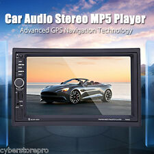 7020G 7 Car Audio Stereo Mp5 Player Remote Control Gps Navigation North America