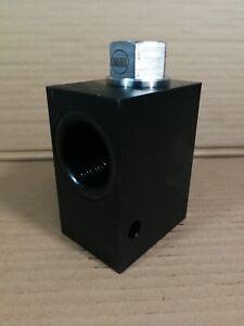 "Sun Hydraulic In Line Check Valve CXHA XCN IAY/S 320LPM 1.25""BSP Steel 350BAR #"
