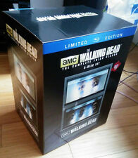 THE WALKING DEAD: SEASON 3 -OOP Blu-ray +McFarlane Toys Governor's Aquarium Case