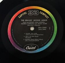 """THE BEATLES ~ deuxième album ~ Capitol ~ compact 33 tr/min 1964 ~ 7"""" jukebox EP SXA-2080"""