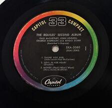 "THE BEATLES ~ SECONDO ALBUM ~ Capitol ~ Compact 33 RPM ~ 1964 7"" JUKEBOX EP SXA-2080"