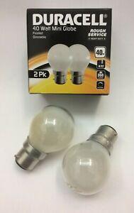 10 x 40w Watt Bayonet light Bulbs B22 BC Golfball Mini Globe Round Dimmable Lamp
