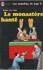 ROBERT VAN GULIK LE MONASTERE HANTE