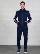 Tuta da Uomo adidas Tute calda intere sportive felpata rappresentanza Blu S 82f70b867308