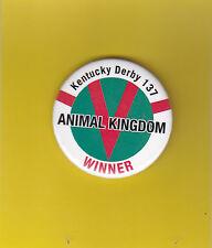 "SGA 2011 Kentucky Derby 2.25"" pinback button ANIMAL KINGDOM FREE USA SHIP"