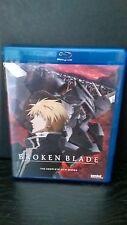 Broken Blade: The Complete Series [2 Discs]  (Blu-ray  Anime lot