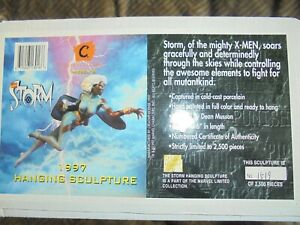 """1997- Marval """" Storm """" Hanging Sculpture. Marvel Limited Collection"""