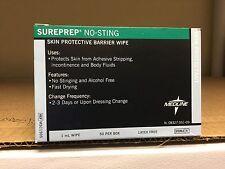 Medline Sureprep No-Sting Skin Protectant Wipe (Pack of 50) - MSC1505Z