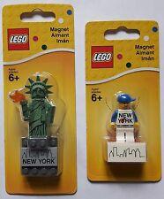 LEGO® 853600 & 853599 Magnet Steine New York Minifiguren Neu & OVP new sealed
