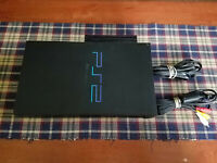 Sony PlayStation 2 Console - Ps2 System SCPH-39001 - W/ Cords and HDD SCPH-10281