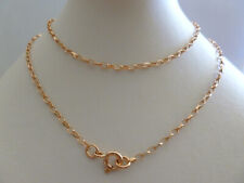 9ct Solid Rose Gold Belcher Chain Necklace - 50cm's 20 Inches N147