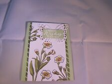 Butterfly Wishes Sending Wishes Your Way Birthday Card Kit 4 w/Some Stampin Up