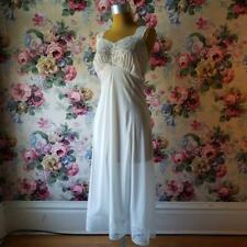 New listing Vintage Artemis Lace White Full Slip Dress Soft Nylon Size 34 Tall