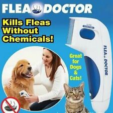 Flea Doctor Electric Flea Comb Dogs Cats Pet Brush Lice Cleaner Tick Remover US