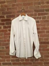 BRIONI Men's Shirt For Bergdorf's 100% Cotton Faille Made In Italy Sz 15 3/4 40