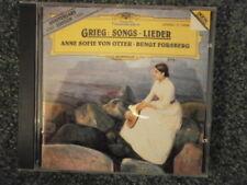 NM Grieg: Lieder - Anne Sofie Von Otter, Bengt Forsberg (CD 1993 DG, BMG Ed.)