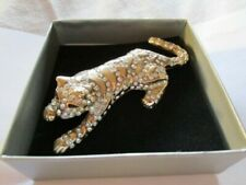Crystal Vintage Costume Brooches/Pins