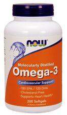 Now Foods Omega-3, 200 Softgels