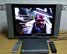 """CONJUNTO - TV PHILIPS 20"""" TFT + TDT BEST BUY CON DVD FUNCION GRABADOR USB"""